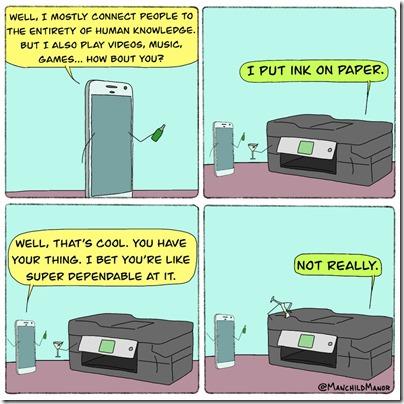 printer blues